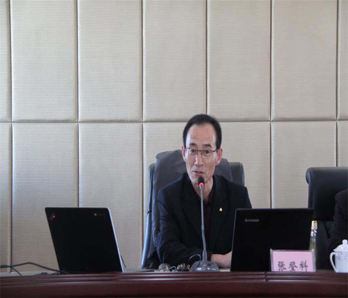 定西市安定区非公党委在甘肃海旺建设集团宣讲党的十九大精神